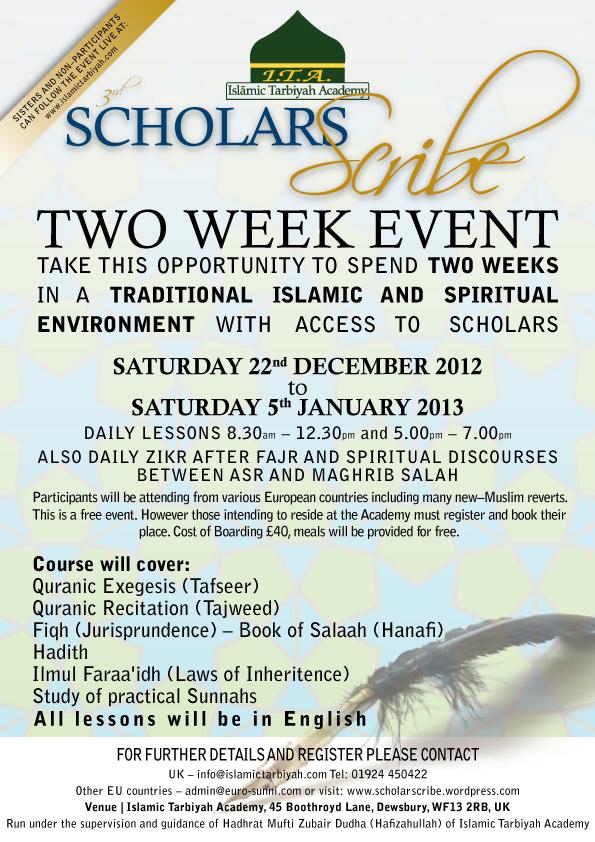Scholars-Scribe-Poster